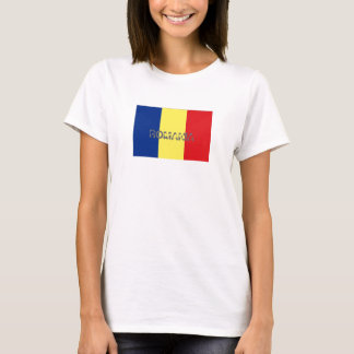Romania flag souvenir t-shirt