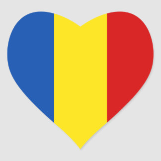 Romania Flag Stickers