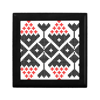 romania folk ethnic dance geometric motif costume trinket boxes