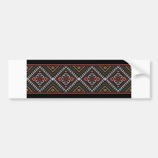 romania folk symbol popular motif costume balcans bumper sticker