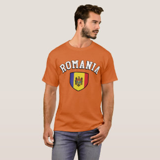 Romania Football Soccer Fans T-Shirt