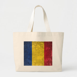 Romania Large Tote Bag