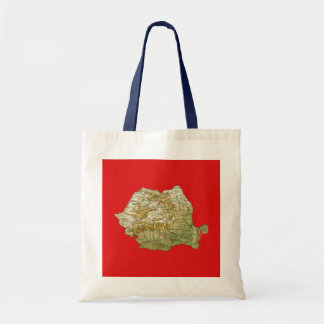 Romania Map Bag