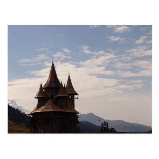 Romania, Moldova, Orthodox Church Postcard