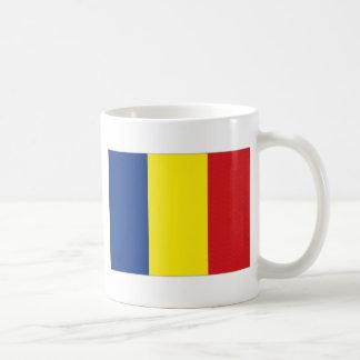 Romania National Flag Coffee Mug