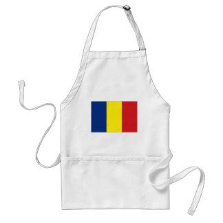 Romania National Flag Standard Apron