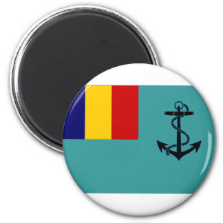 Romania Naval Jack Magnet