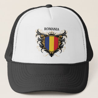 Romania [personalize] trucker hat