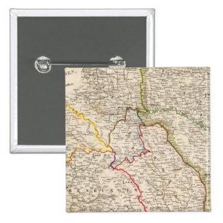 Romania, Poland 15 Cm Square Badge