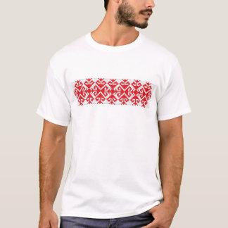 romania popular motifs symbol genuine folk costume T-Shirt