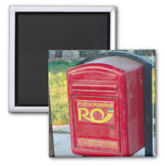 Romania, Post box Magnet