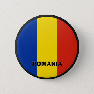 Romania Roundel quality Flag 6 Cm Round Badge