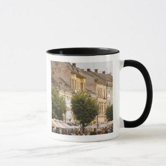 Romania, Sibiu. New Town. RF) Mug