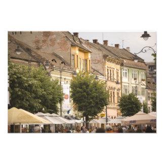 Romania, Sibiu. New Town. RF) Photographic Print