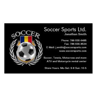 Romania Soccer 2016 Fan Gear Pack Of Standard Business Cards