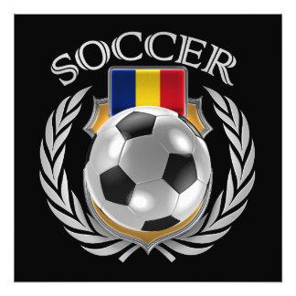 Romania Soccer 2016 Fan Gear Photo Art