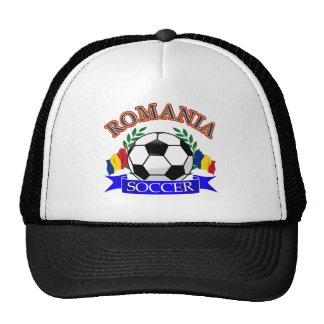 Romania soccer ball designs trucker hats