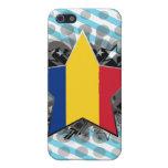 Romania Star iPhone 5 Cases