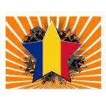 Romania Star Postcard