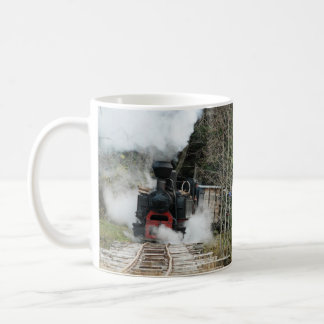 Romania Steam Trains Coffee Mug