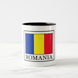 Romania Two-Tone Coffee Mug