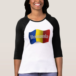 Romania Waving Flag T-Shirt