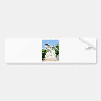 Romanian architecture bumper sticker