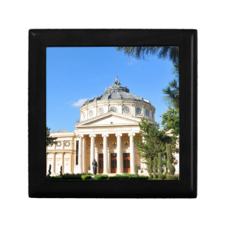 Romanian Athenaeum in Bucharest, Romania Gift Box