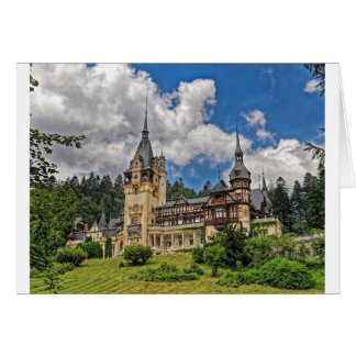 Romanian Castle Card