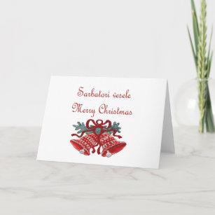 Christmas in romanian cards invitations zazzle romanian christmas card m4hsunfo