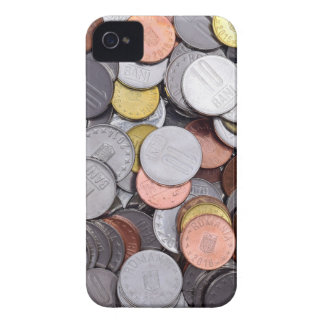 romanian coins iPhone 4 Case-Mate case