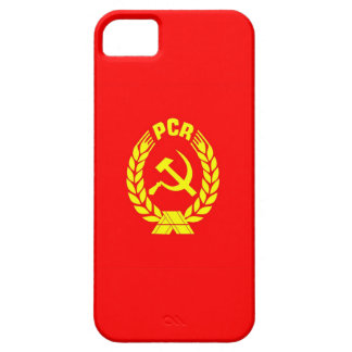 romanian communist party flag case pcr ceausescu iPhone 5 case