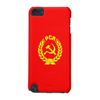 romanian communist party flag case pcr ceausescu iPod touch 5G cases