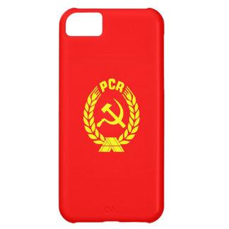 romanian communist party flag case pcr ceausescu iPhone 5C case