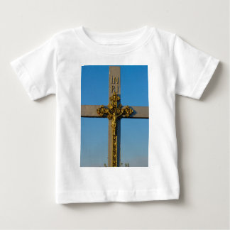 Romanian crucifix Jesus is Lord Baby T-Shirt