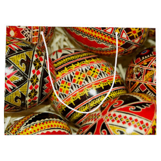 Romanian Easter Eggs Large Gift Bag