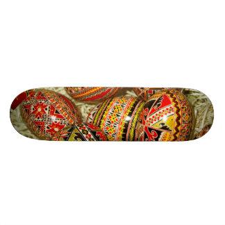 Romanian Easter Eggs Skateboard