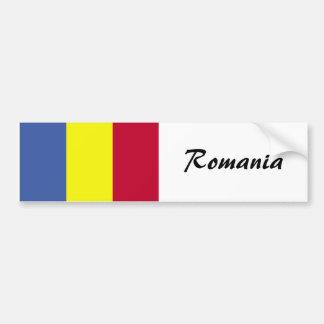 Romanian Flag Bumper Sticker