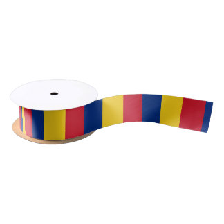 Romanian flag ribbon satin ribbon