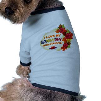 Romanian Girlfriend designs Ringer Dog Shirt