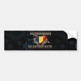 Romanian Heartbreaker Bumper Sticker