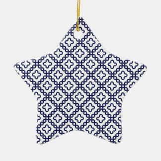 romanian popular costume folklore stitch geometric christmas ornament