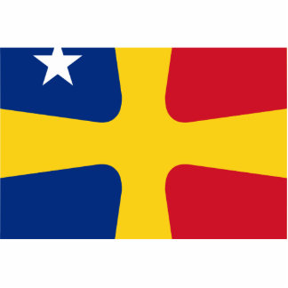 Romanian Rear Admiral, Romania flag Cut Out