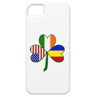 Romanian Shamrock Case For The iPhone 5