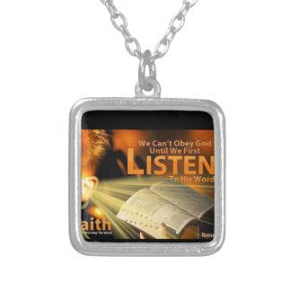Romans 10:17 jewelry