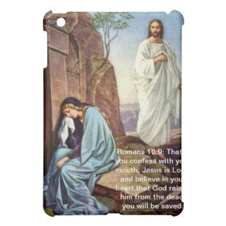 Romans 10: 9 Jesus Rising from the Dead iPad Case