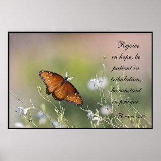 Romans 12:12 poster