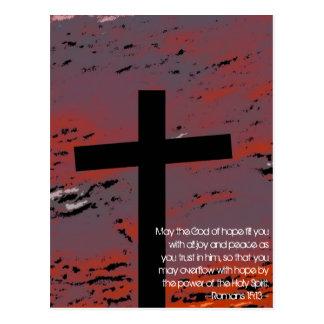 Romans 15:13 postcard