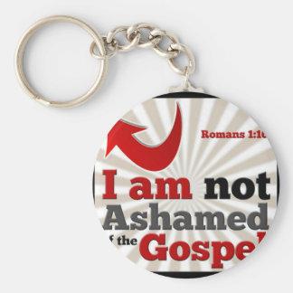 Romans 1:16 key ring