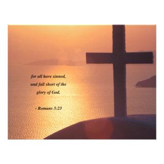 ROMANS  3:23 21.5 CM X 28 CM FLYER